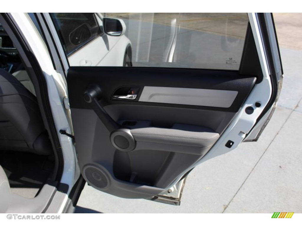 2011 CR-V EX-L 4WD - Taffeta White / Gray photo #19