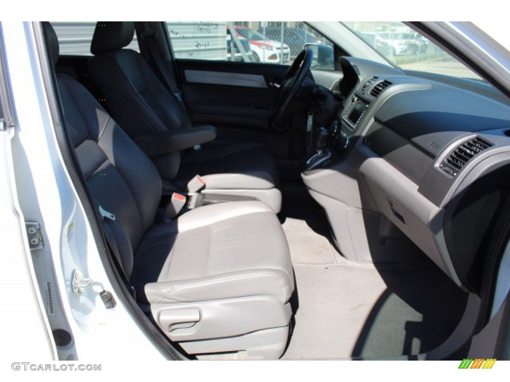 2011 CR-V EX-L 4WD - Taffeta White / Gray photo #22