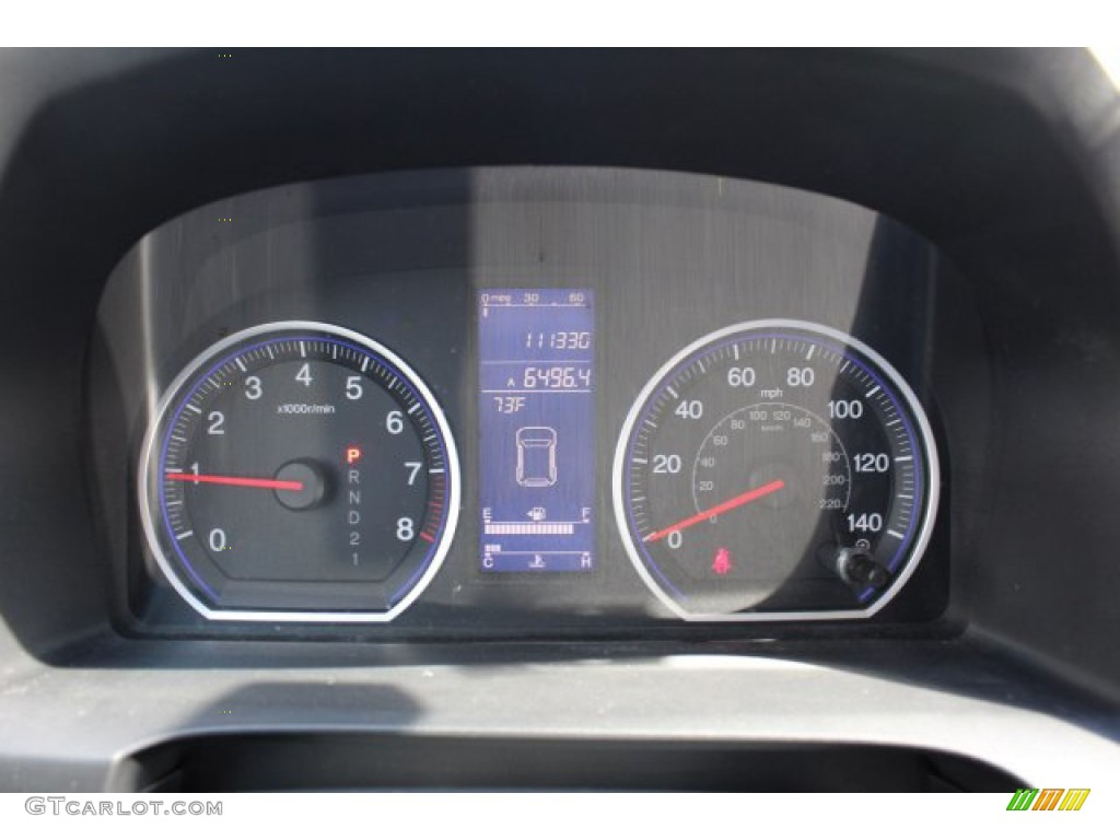 2011 CR-V EX-L 4WD - Taffeta White / Gray photo #24