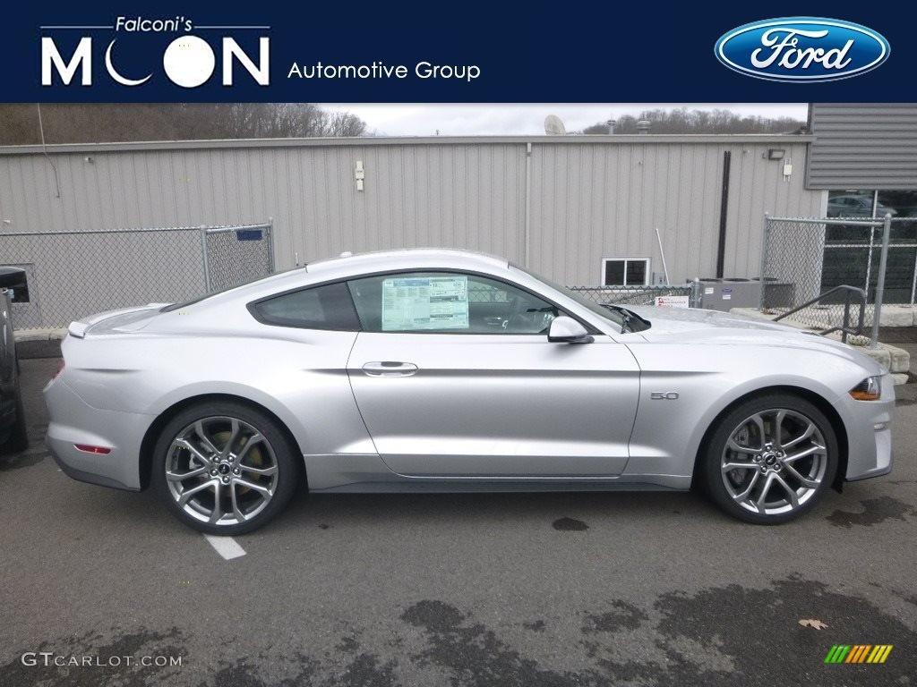 2019 Mustang GT Premium Fastback - Ingot Silver / Ebony photo #1