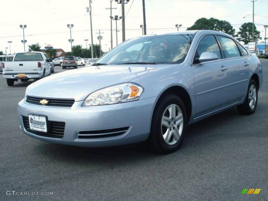 2006 Glacier Blue Metallic Chevrolet Impala Lt 13235095 Car Color Galleries