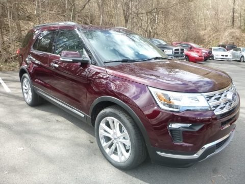 2019 Ford Explorer Limited 4WD Data, Info and Specs