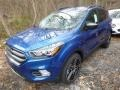 2019 Lightning Blue Ford Escape SEL 4WD  photo #4