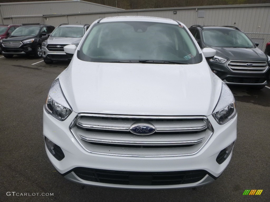 2019 Escape SE 4WD - Oxford White / Chromite Gray/Charcoal Black photo #4