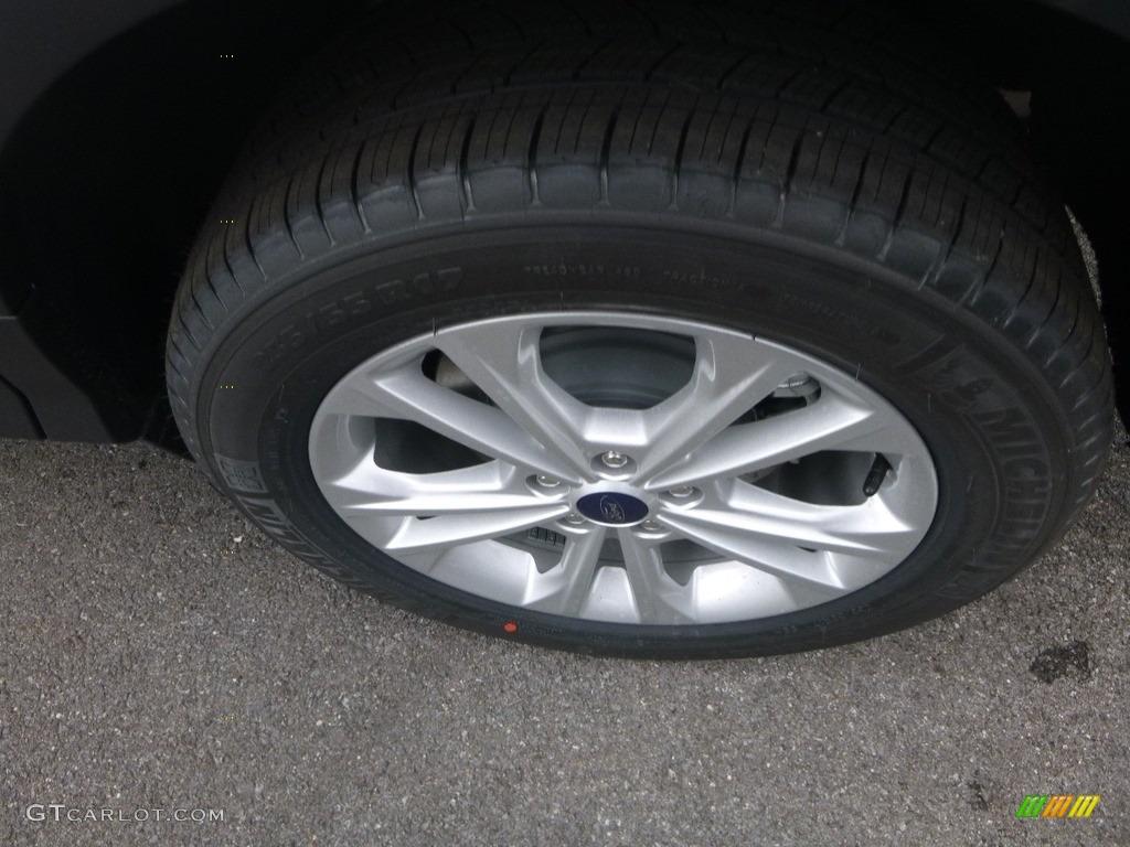 2019 Escape SE 4WD - Oxford White / Chromite Gray/Charcoal Black photo #7