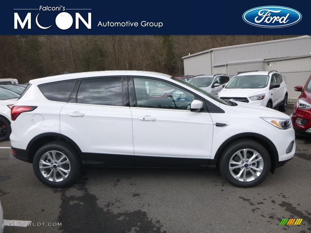 2019 Escape SE - Oxford White / Chromite Gray/Charcoal Black photo #1