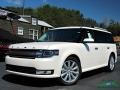 2019 White Platinum Ford Flex Limited AWD  photo #1