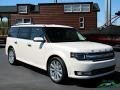 2019 White Platinum Ford Flex Limited AWD  photo #7