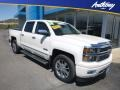 White Diamond Tricoat 2014 Chevrolet Silverado 1500 High Country Crew Cab 4x4