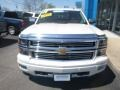 2014 White Diamond Tricoat Chevrolet Silverado 1500 High Country Crew Cab 4x4  photo #10