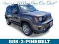2019 Granite Crystal Metallic Jeep Renegade Latitude 4x4 #132902498
