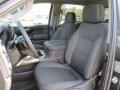 Jet Black Front Seat Photo for 2019 Chevrolet Silverado 1500 #132945276