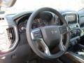 Jet Black Steering Wheel Photo for 2019 Chevrolet Silverado 1500 #132945311
