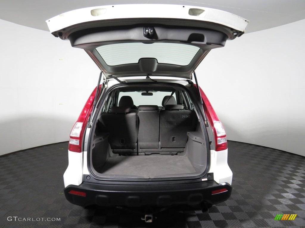 2008 CR-V LX 4WD - Taffeta White / Ivory photo #12