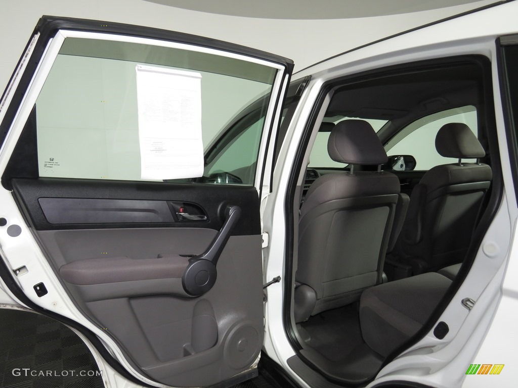 2008 CR-V LX 4WD - Taffeta White / Ivory photo #16