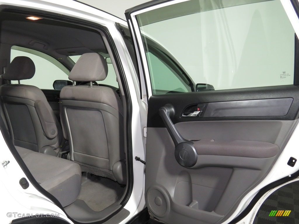 2008 CR-V LX 4WD - Taffeta White / Ivory photo #18