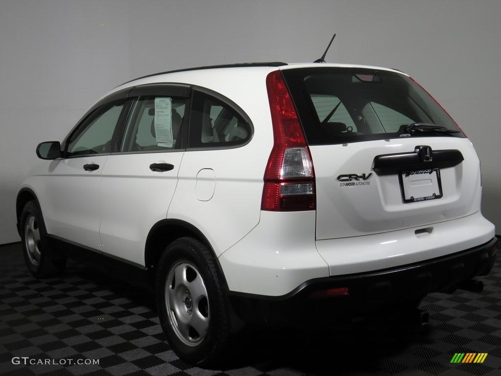 2008 CR-V LX 4WD - Taffeta White / Ivory photo #26