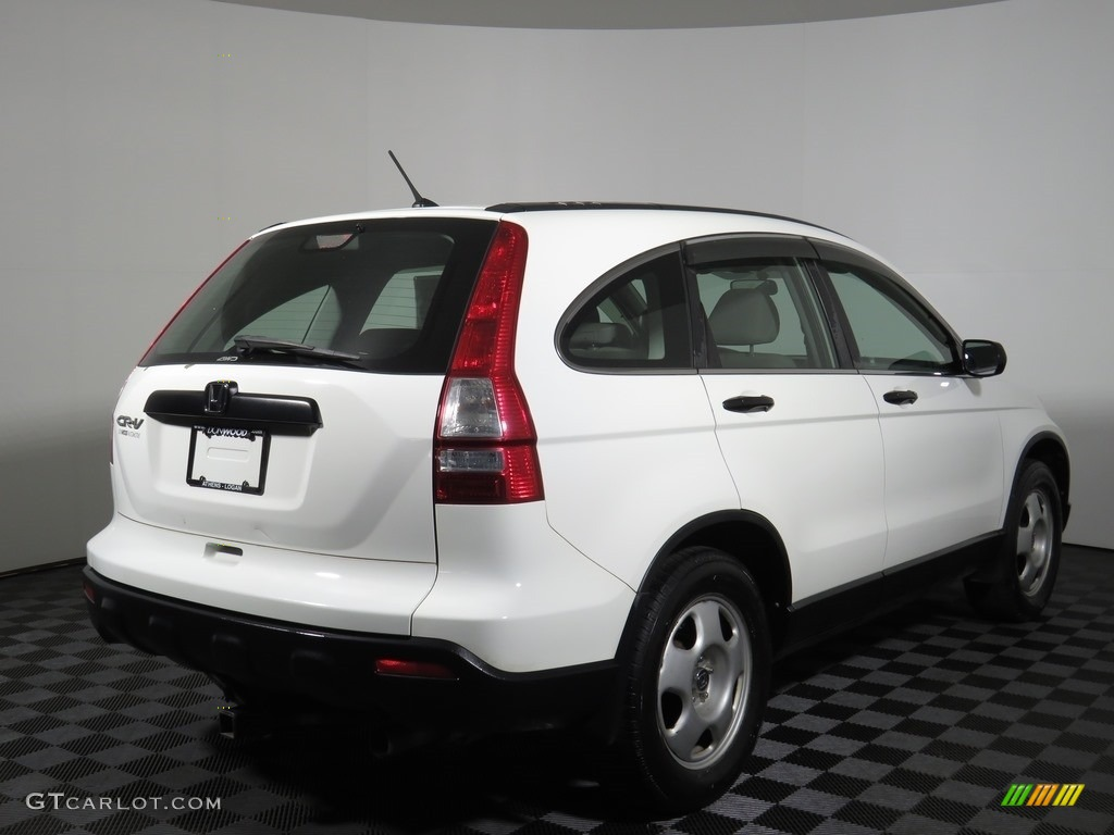 2008 CR-V LX 4WD - Taffeta White / Ivory photo #28