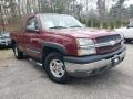 2004 Victory Red Chevrolet Silverado 1500 LS Regular Cab 4x4  photo #1