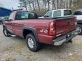 2004 Victory Red Chevrolet Silverado 1500 LS Regular Cab 4x4  photo #2