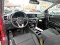 2020 Sportage EX AWD Black Interior