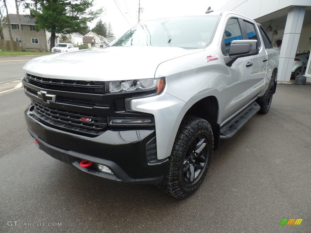 2019 Silverado 1500 LT Z71 Trail Boss Crew Cab 4WD - Silver Ice Metallic / Jet Black photo #5