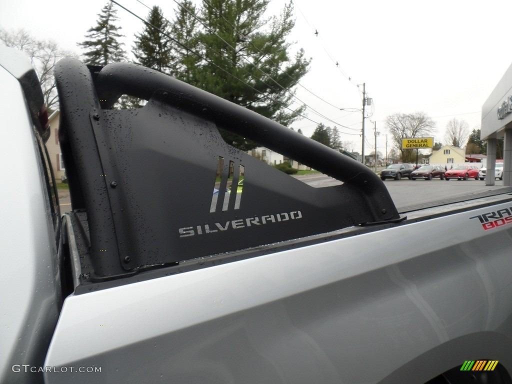 2019 Silverado 1500 LT Z71 Trail Boss Crew Cab 4WD - Silver Ice Metallic / Jet Black photo #19