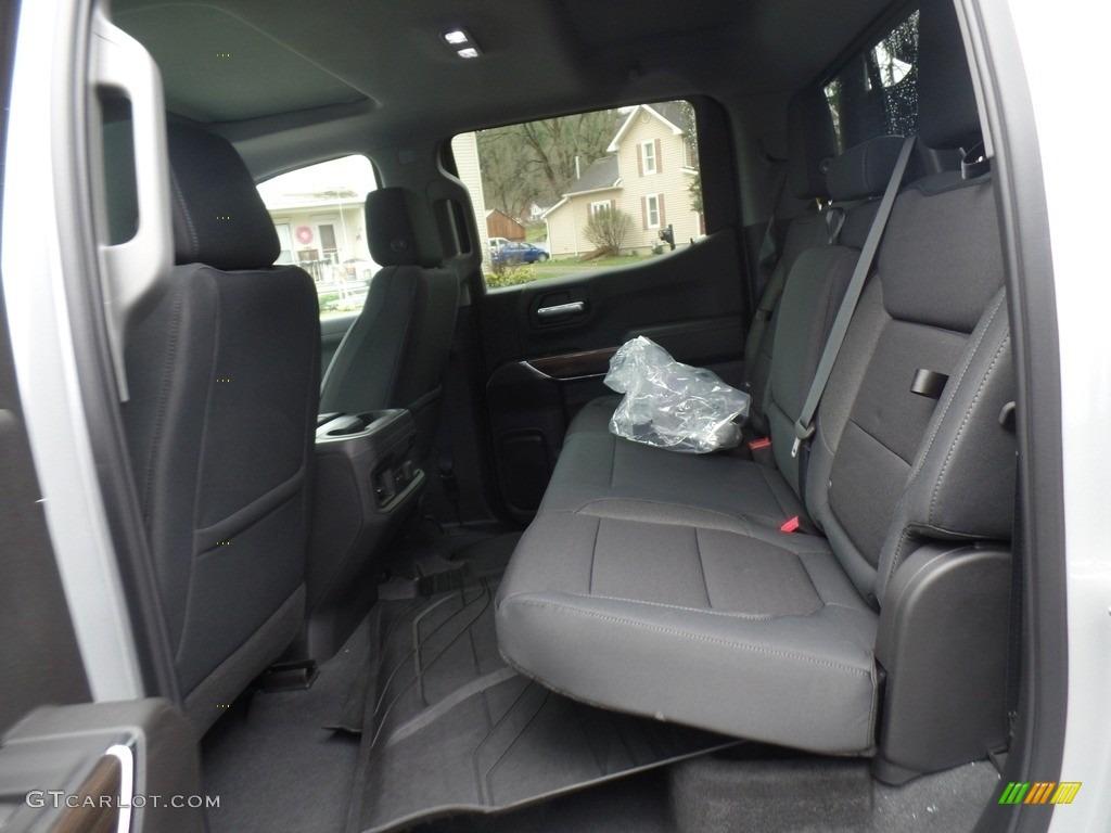 2019 Silverado 1500 LT Z71 Trail Boss Crew Cab 4WD - Silver Ice Metallic / Jet Black photo #48