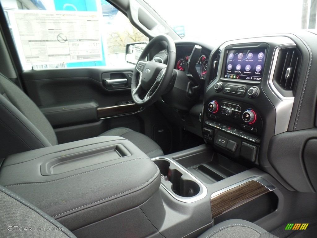 2019 Silverado 1500 LT Z71 Trail Boss Crew Cab 4WD - Silver Ice Metallic / Jet Black photo #56