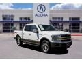 White Gold - F150 King Ranch SuperCrew 4x4 Photo No. 1