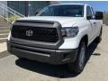 2019 Super White Toyota Tundra SR Double Cab 4x4  photo #1