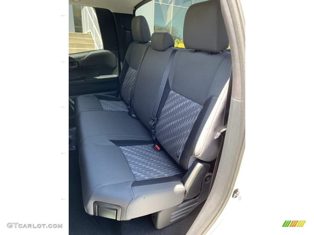 2019 Tundra SR Double Cab 4x4 - Super White / Graphite photo #14