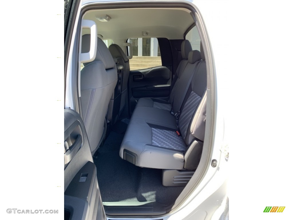 2019 Tundra SR Double Cab 4x4 - Super White / Graphite photo #15