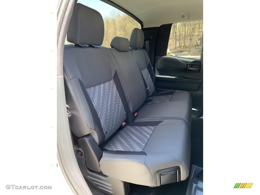 2019 Tundra SR Double Cab 4x4 - Super White / Graphite photo #18