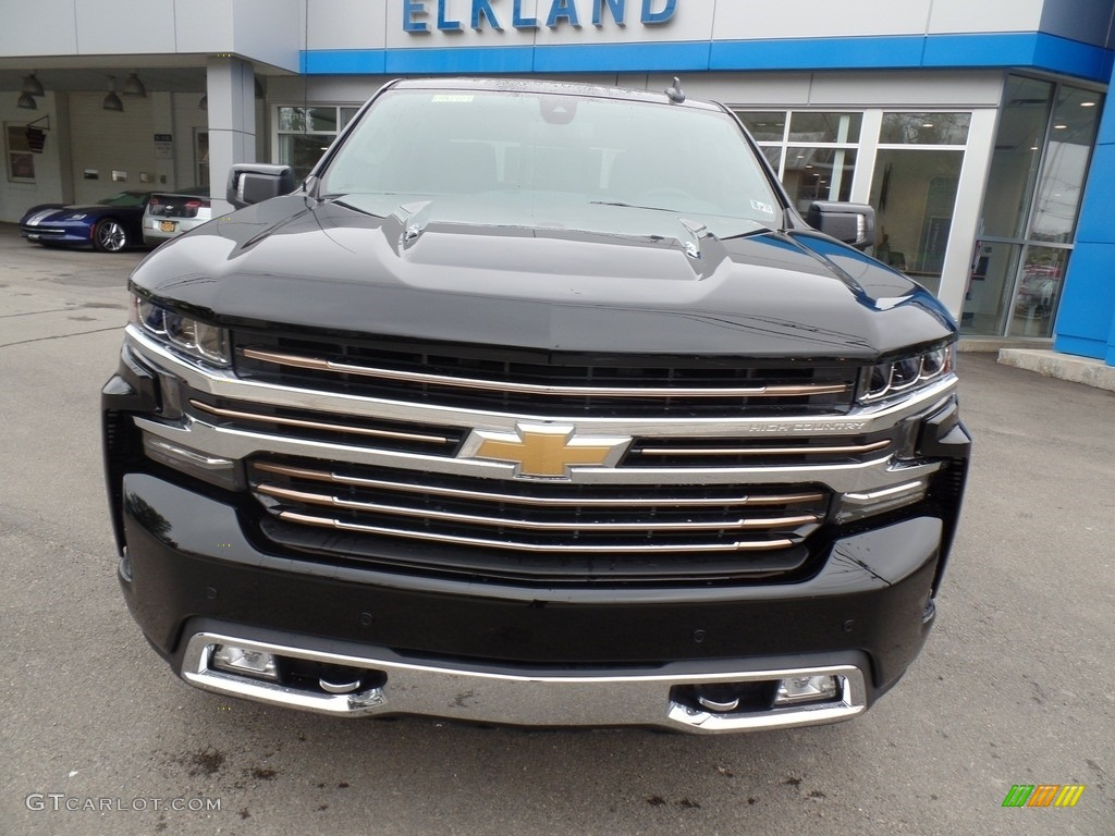 2019 Silverado 1500 High Country Crew Cab 4WD - Black / Jet Black photo #3