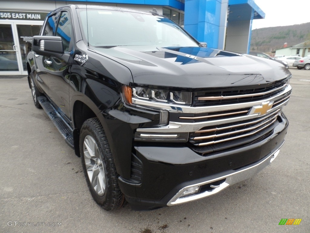 2019 Silverado 1500 High Country Crew Cab 4WD - Black / Jet Black photo #4