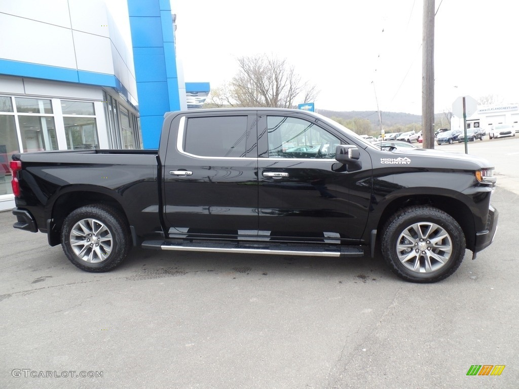 2019 Silverado 1500 High Country Crew Cab 4WD - Black / Jet Black photo #6