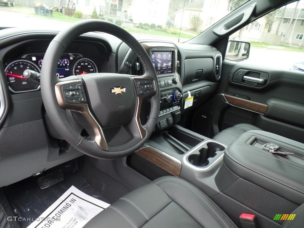 2019 Silverado 1500 High Country Crew Cab 4WD - Black / Jet Black photo #22