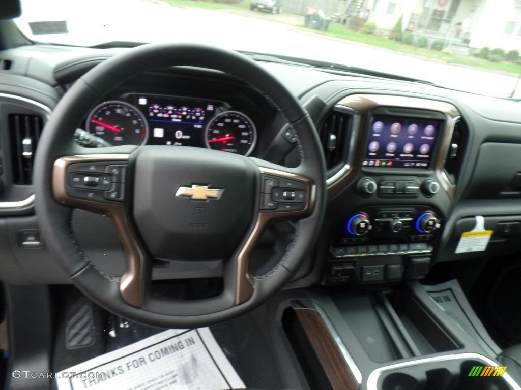 2019 Silverado 1500 High Country Crew Cab 4WD - Black / Jet Black photo #23