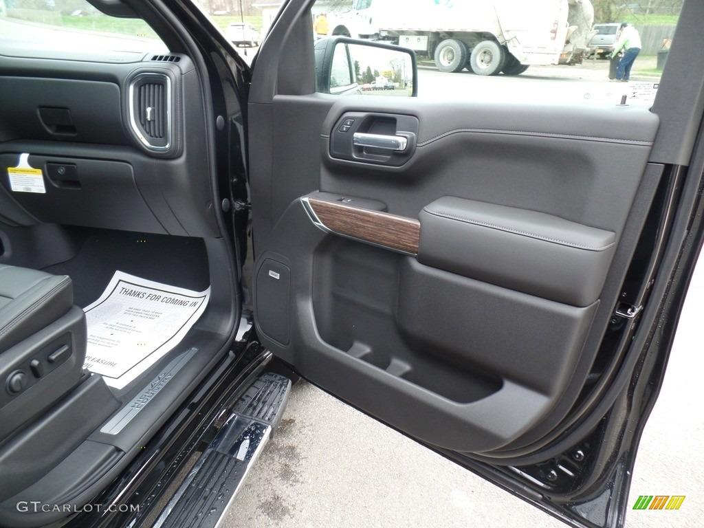 2019 Silverado 1500 High Country Crew Cab 4WD - Black / Jet Black photo #59