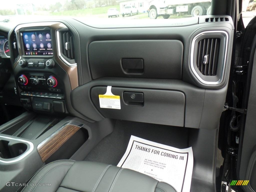 2019 Silverado 1500 High Country Crew Cab 4WD - Black / Jet Black photo #62