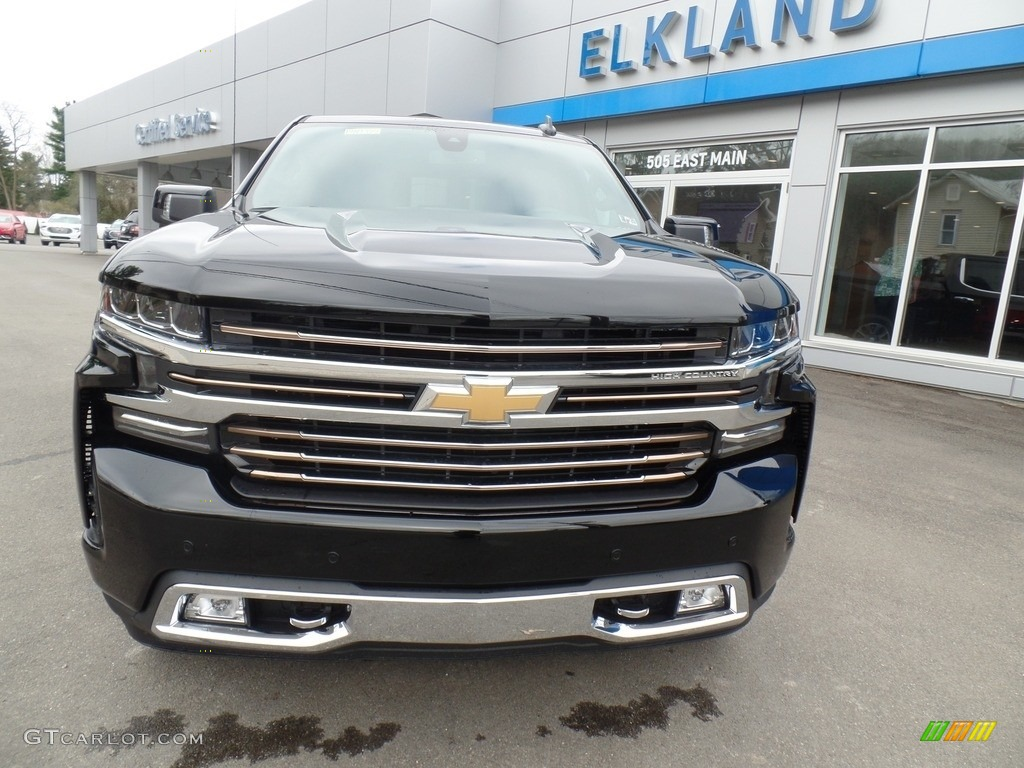 2019 Silverado 1500 High Country Crew Cab 4WD - Black / Jet Black photo #2