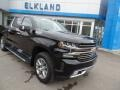 2019 Black Chevrolet Silverado 1500 High Country Crew Cab 4WD  photo #3