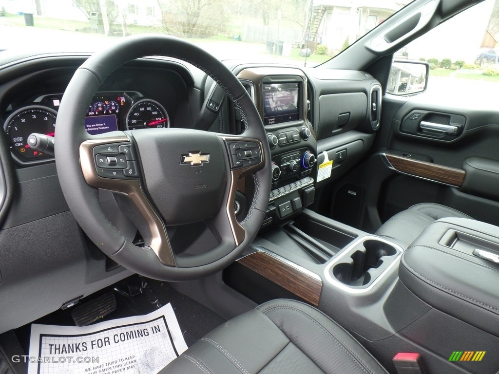 2019 Silverado 1500 High Country Crew Cab 4WD - Black / Jet Black photo #19