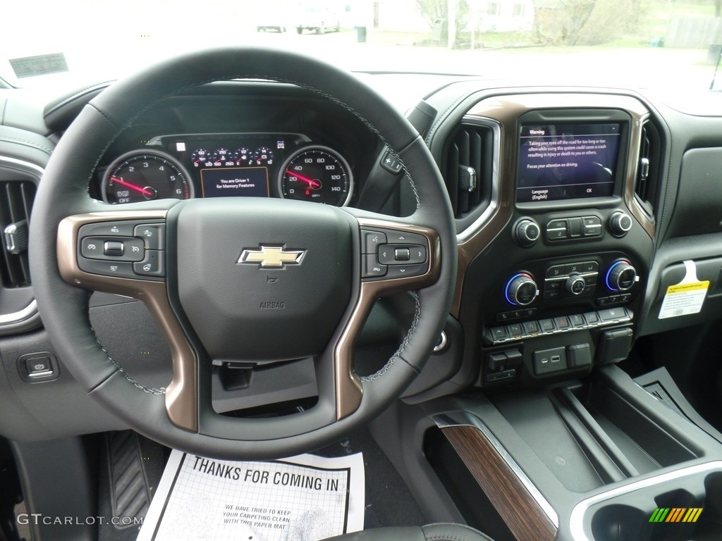 2019 Silverado 1500 High Country Crew Cab 4WD - Black / Jet Black photo #20