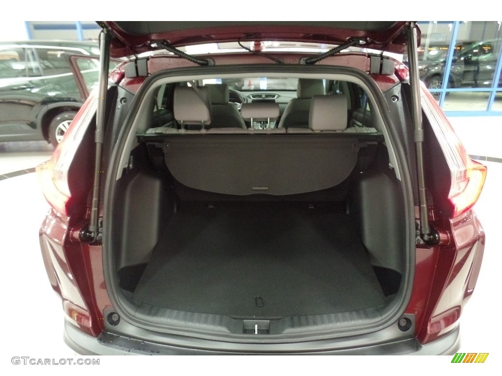 2019 CR-V EX-L AWD - Basque Red Pearl II / Gray photo #15