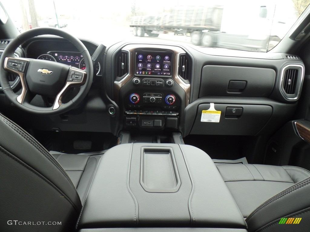 2019 Silverado 1500 High Country Crew Cab 4WD - Black / Jet Black photo #41
