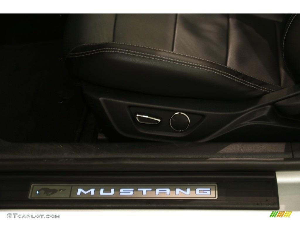 2018 Mustang EcoBoost Premium Convertible - Ingot Silver / Ebony photo #6