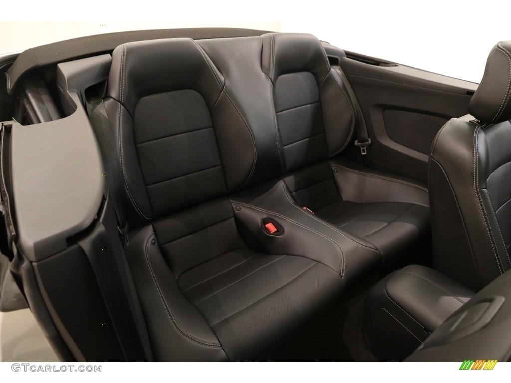 2018 Mustang EcoBoost Premium Convertible - Ingot Silver / Ebony photo #15
