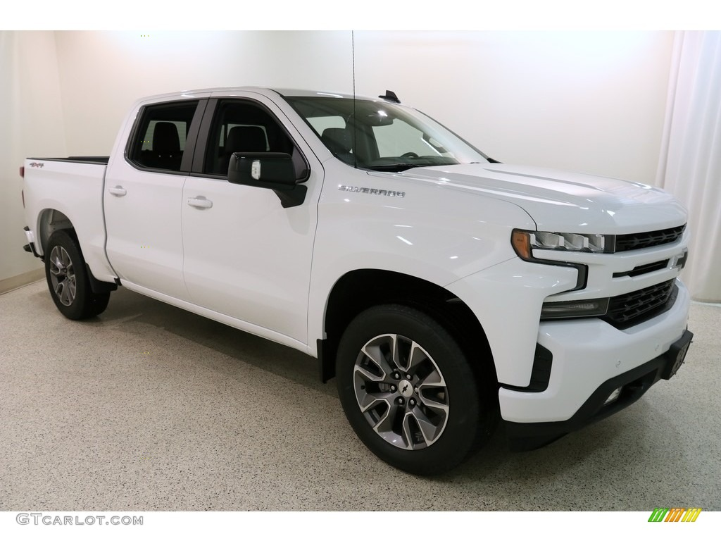 2019 Silverado 1500 RST Crew Cab 4WD - Summit White / Jet Black photo #1